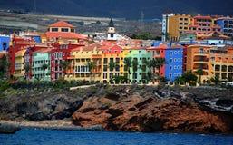色的房子 免版税库存照片