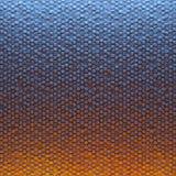 色的抽象六角形空白的背景 库存例证