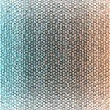 色的抽象六角形空白的背景 向量例证