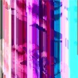 色的抽象小故障艺术设计背景 免版税库存照片