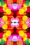 色的抽象泡影 免版税图库摄影