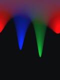 色的抽象背景 图库摄影