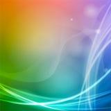 色的抽象背景 免版税库存图片