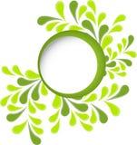 从绿色的抽象背景 库存图片