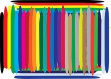 色的抽象background1 免版税库存图片