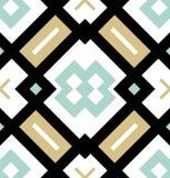 色的无缝的几何样式 现代时髦的纹理 重复飞行物的不尽的瓦片,包装纸,网背景 向量例证