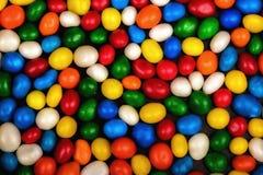 色的明亮的糖果 免版税库存照片