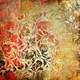 色的有花边的模式 免版税库存照片