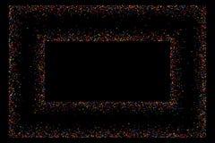 色的框架 免版税库存图片