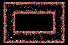 色的框架 库存图片
