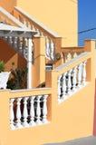 色的楼梯 库存照片