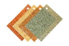 色的橡胶地板 库存照片