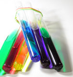 色的液体 免版税图库摄影