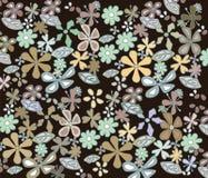 色的淡色手工制造抽象装饰品 库存照片