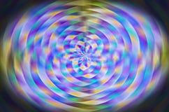 色的漩涡 图库摄影
