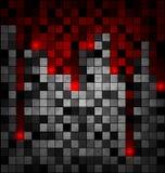 色的灰色红色块 皇族释放例证