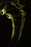 色的烟的运动是迷离和噪声 库存照片
