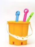 色的玩具 免版税图库摄影