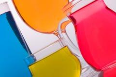 色的玻璃 免版税库存图片