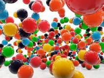 色的球 免版税图库摄影