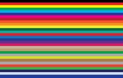 色的看板卡 免版税库存照片