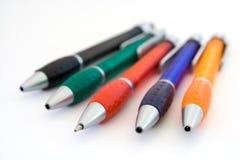 色的笔 免版税库存图片