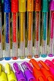 色的笔7 库存图片