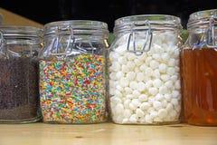 色的糖 库存照片