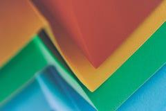 色的纸背景 免版税库存图片