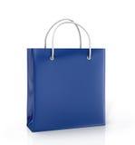 色的纸袋 库存例证