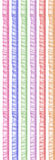 色的纺织品 免版税库存图片