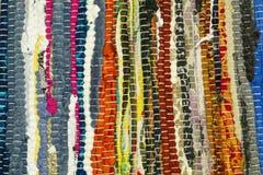 色的织品 免版税库存图片
