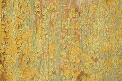 色的老木头 免版税库存图片