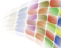 色的背景 免版税库存照片