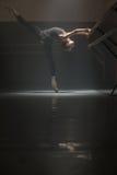 黑色的芭蕾舞女演员 免版税库存照片