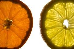 色的被画的现有量柠檬生活橙色铅笔仍然 免版税图库摄影