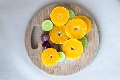 色的被画的现有量柠檬生活橙色铅笔仍然 免版税库存照片
