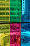 色的视窗 库存图片