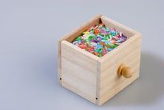 色的谷物米 免版税库存图片
