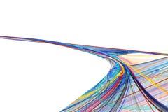 色的路径 图库摄影