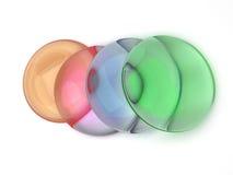 色的透镜 免版税库存照片