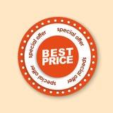 色的邮票& x28设计; stickers& x29;待售 免版税库存照片