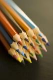 色的铅笔 免版税库存照片