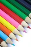 色的铅笔 库存照片