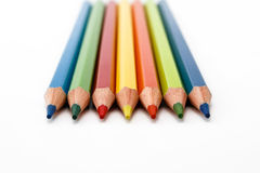 色的铅笔 库存图片