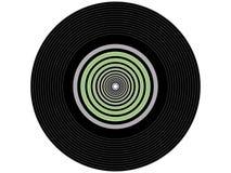 色的音乐唱片 库存照片