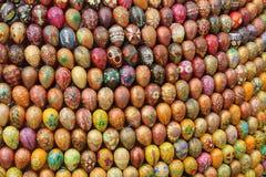 色的鸡蛋 库存照片