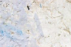 色的水泥墙壁 库存照片