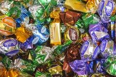 色的candys 库存图片
