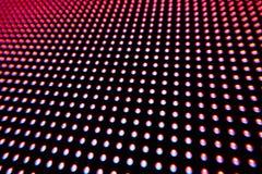色的LED光纹理  免版税库存图片